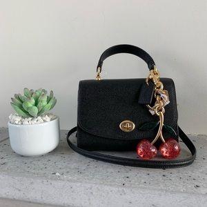 NWT COACH Micro bag and bag charm